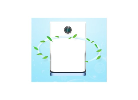 Air Purifier with UV Lamp with HEPA with Activated carbo with Cold catays with Nagetive ion