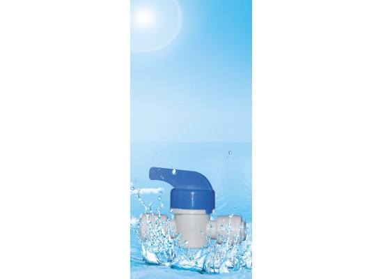 Dust water valve